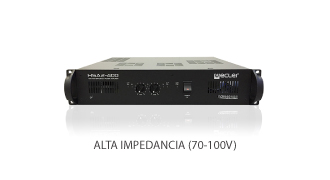 Ecler-HSA2-400-100V-high-impedance-professional-power-amplifier-front-lr4