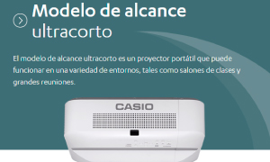 Serie-Ultracorto-Proyectores-Casio-Automa-Distribuidor-Para-Colombia