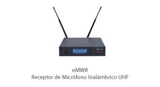 Ecler-essentials-eMWR-wireless-rack-mount-microphone-receiver-front-lr