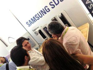 Cerraduras digitales Samsung SDS