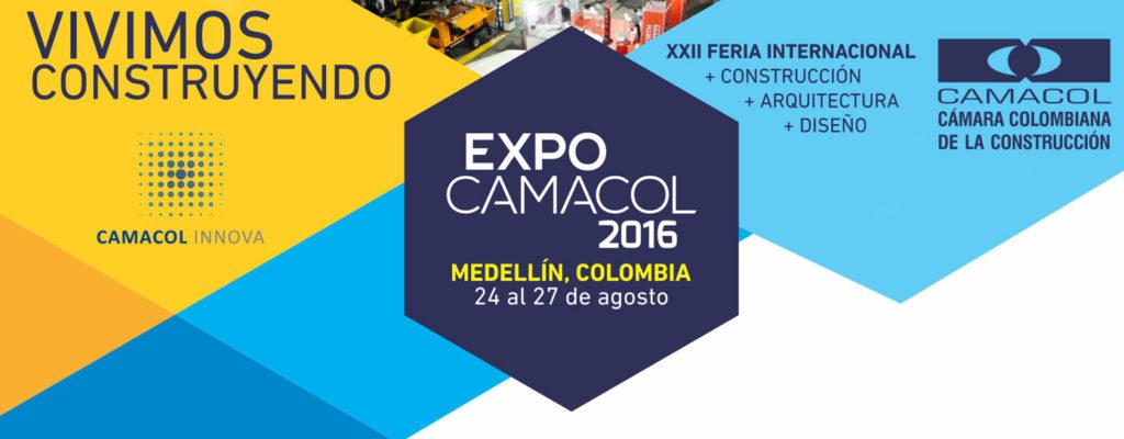 ExpoCamacol Feria Internacional de la Construcción, Arquitectura y el Diseño.