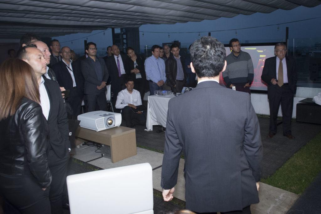 Evento lanzamiento proyector 4K Ultra HD de 5000 lúmenes Casio.